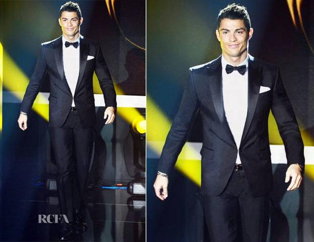 Cristiano-Ronaldo-In-Dsquared²-FIFA-Ballon-dOr-Gala-2012